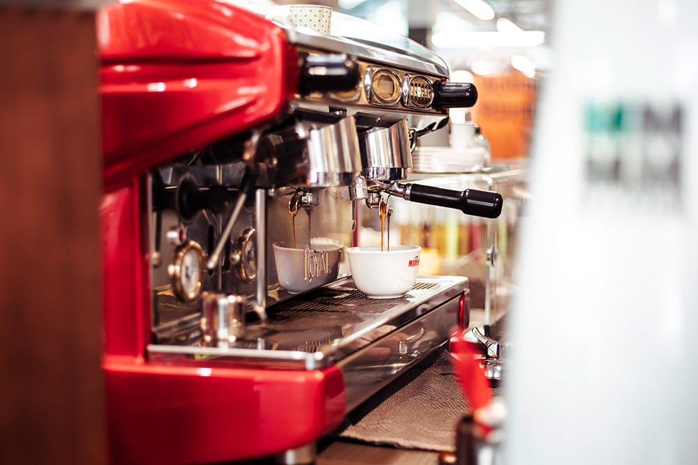 Kaffee und Getränke